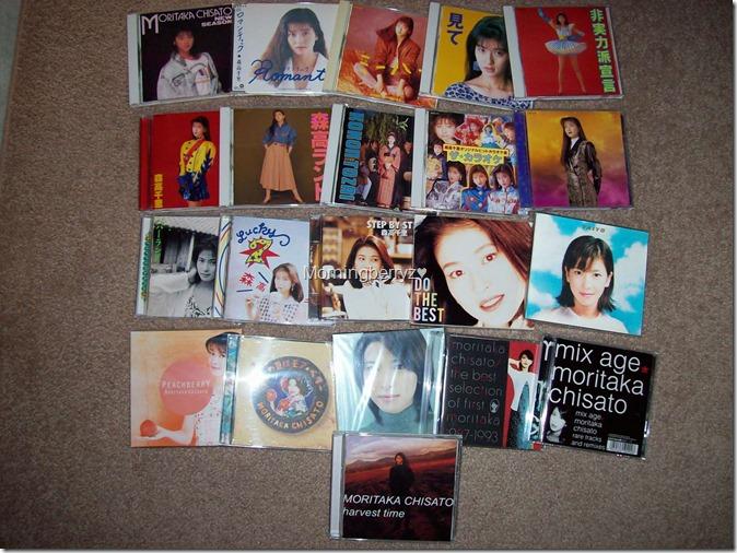 Moritaka Chisato original album collection complete