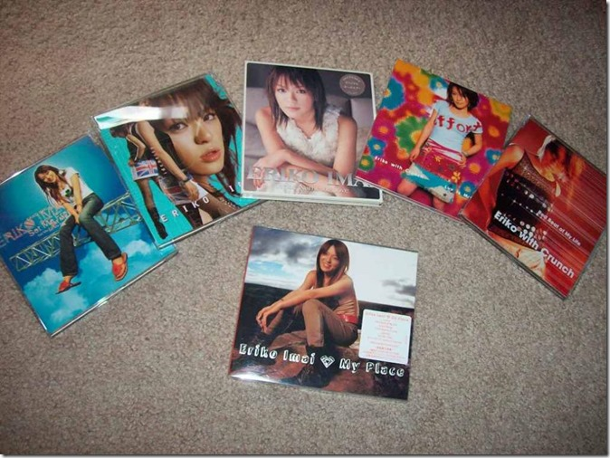 My Imai Eriko solo collection