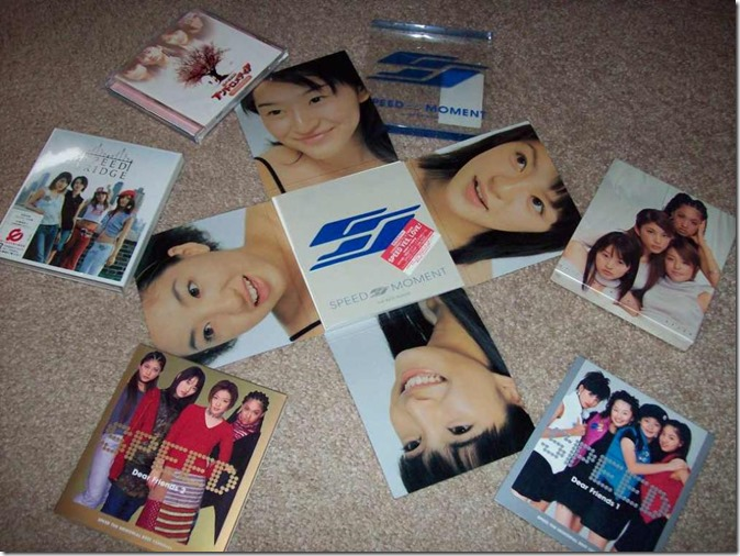 My Speed album collection (continued) note, Moment is centered