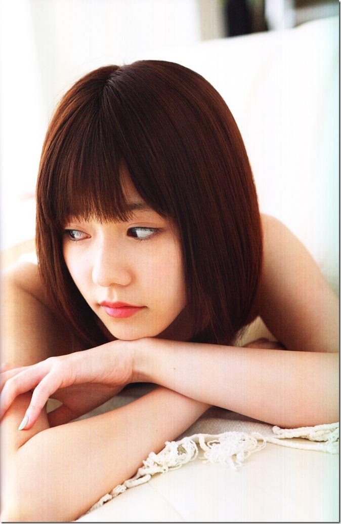 Shimazaki Haruka first photo book Paruru, Komaru (100)