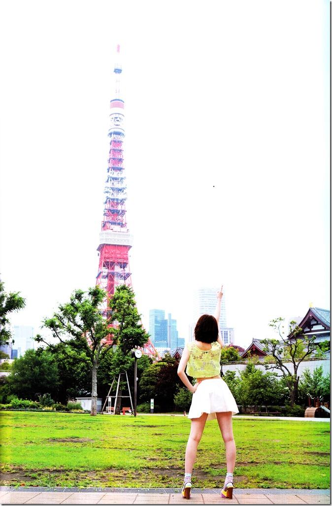 Shimazaki Haruka first photo book Paruru, Komaru (111)