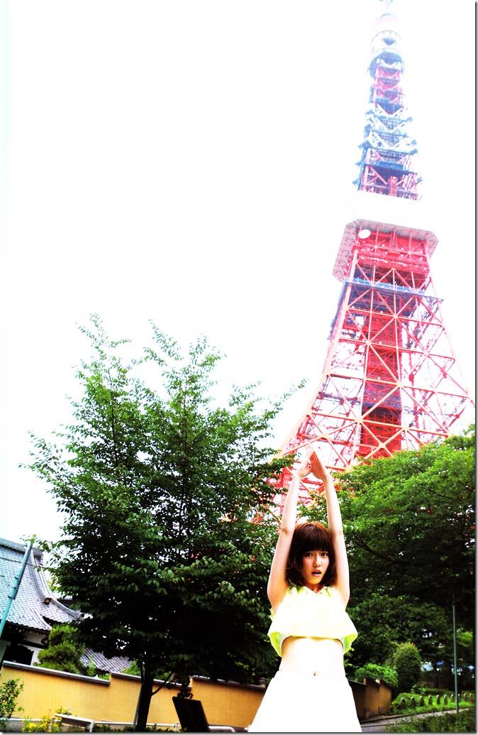 Shimazaki Haruka first photo book Paruru, Komaru (112)