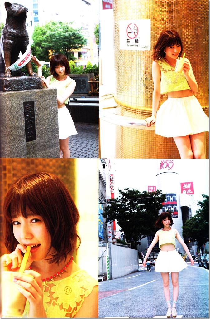 Shimazaki Haruka first photo book Paruru, Komaru (113)