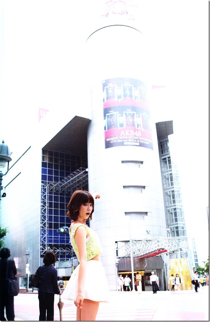 Shimazaki Haruka first photo book Paruru, Komaru (114)