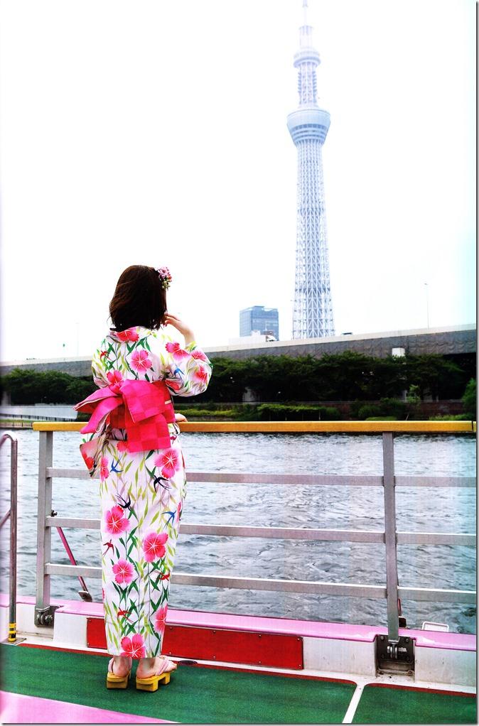Shimazaki Haruka first photo book Paruru, Komaru (122)