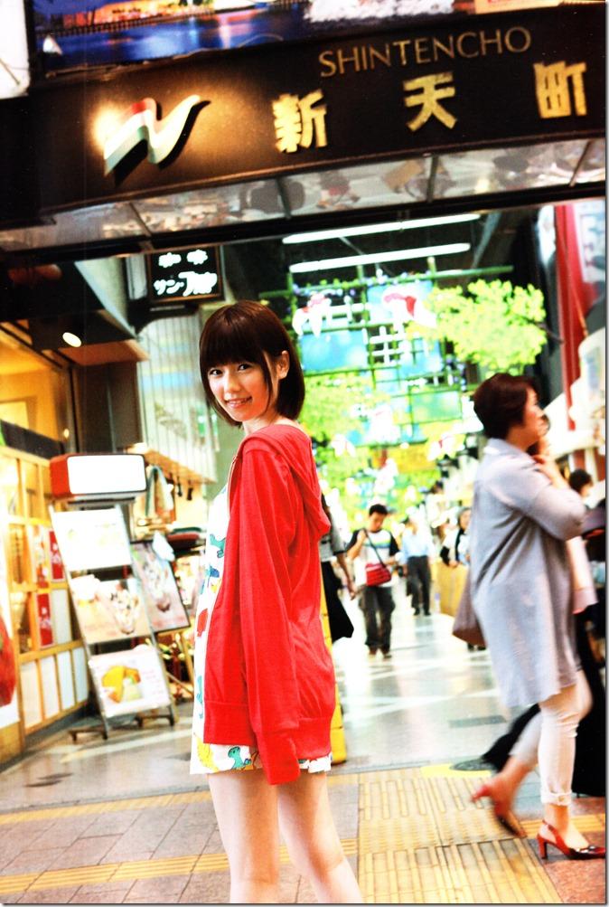 Shimazaki Haruka first photo book Paruru, Komaru (23)