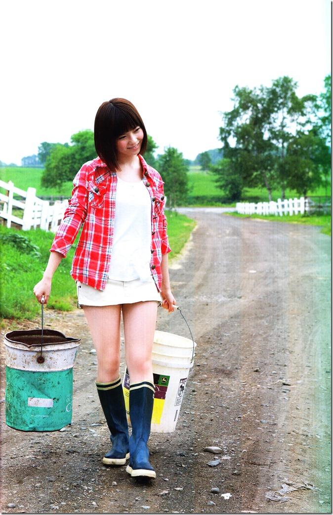 Shimazaki Haruka first photo book Paruru, Komaru (45)