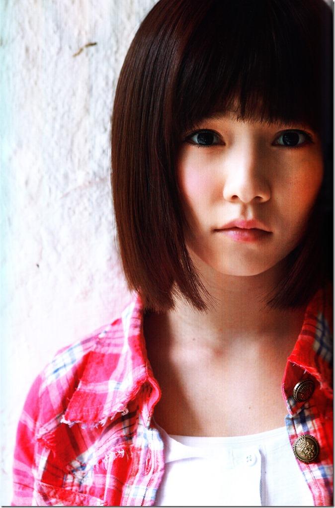 Shimazaki Haruka first photo book Paruru, Komaru (46)
