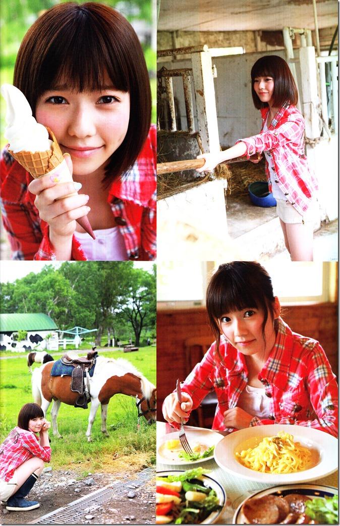 Shimazaki Haruka first photo book Paruru, Komaru (47)