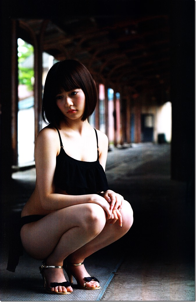 Shimazaki Haruka first photo book Paruru, Komaru (51)