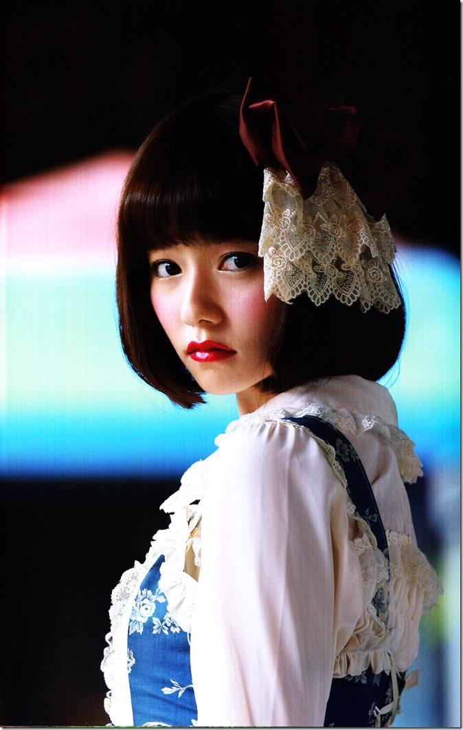 Shimazaki Haruka first photo book Paruru, Komaru (56)