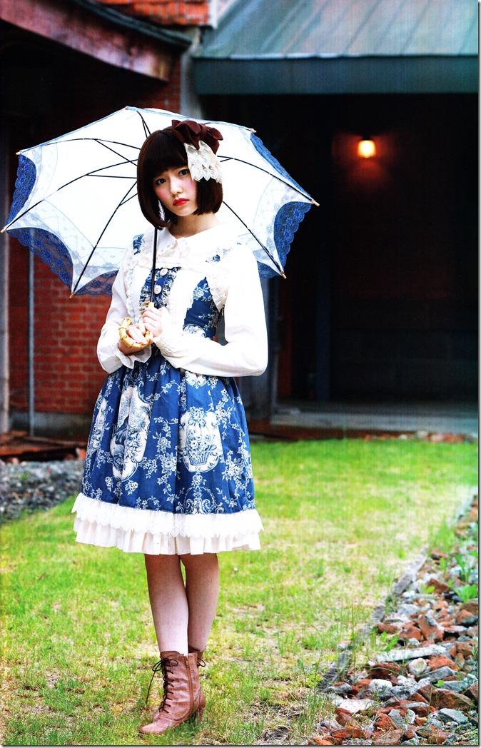Shimazaki Haruka first photo book Paruru, Komaru (57)