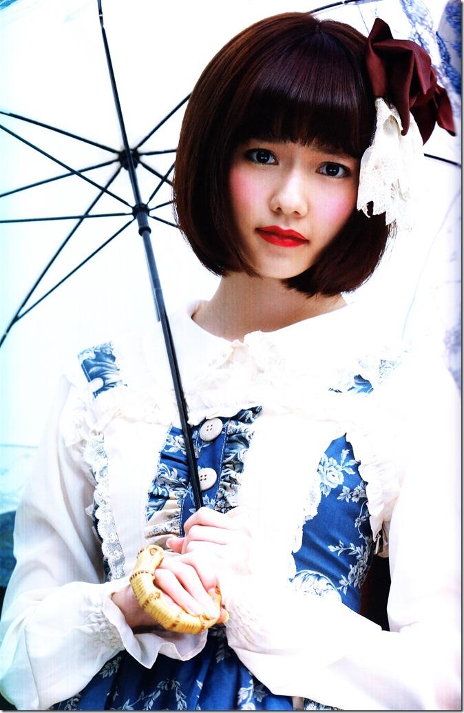 Shimazaki Haruka first photo book Paruru, Komaru (58)