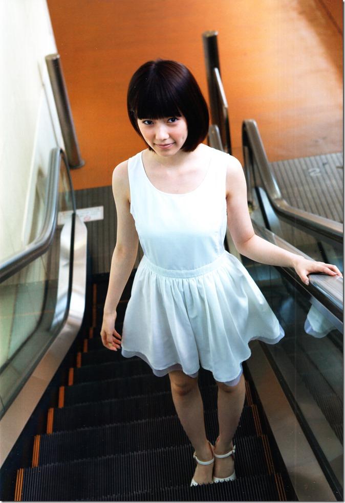 Shimazaki Haruka first photo book Paruru, Komaru (5)