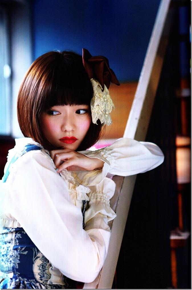 Shimazaki Haruka first photo book Paruru, Komaru (60)