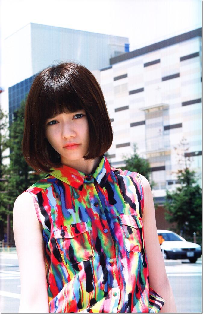 Shimazaki Haruka first photo book Paruru, Komaru (70)