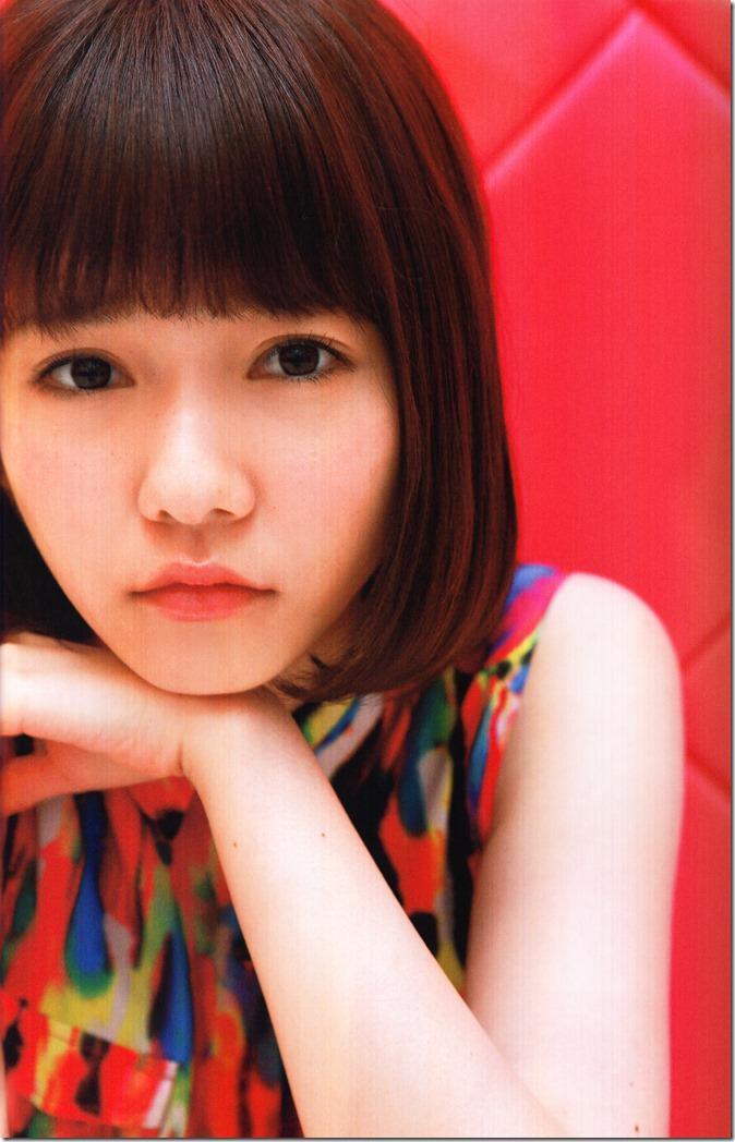 Shimazaki Haruka first photo book Paruru, Komaru (72)