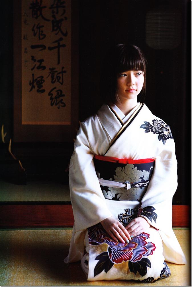 Shimazaki Haruka first photo book Paruru, Komaru (81)