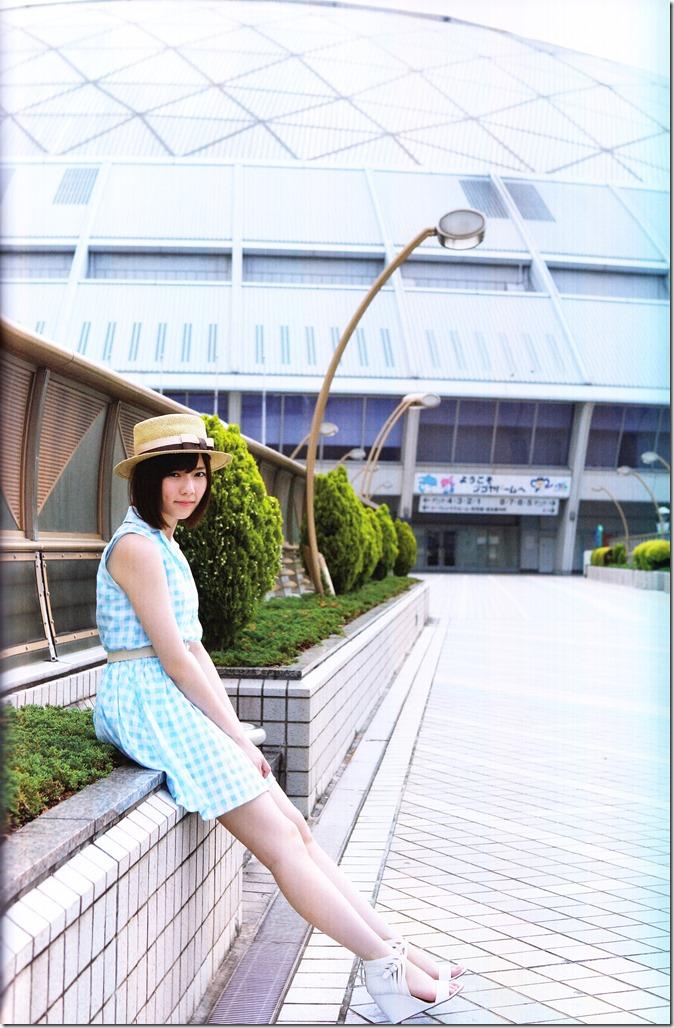 Shimazaki Haruka first photo book Paruru, Komaru (92)