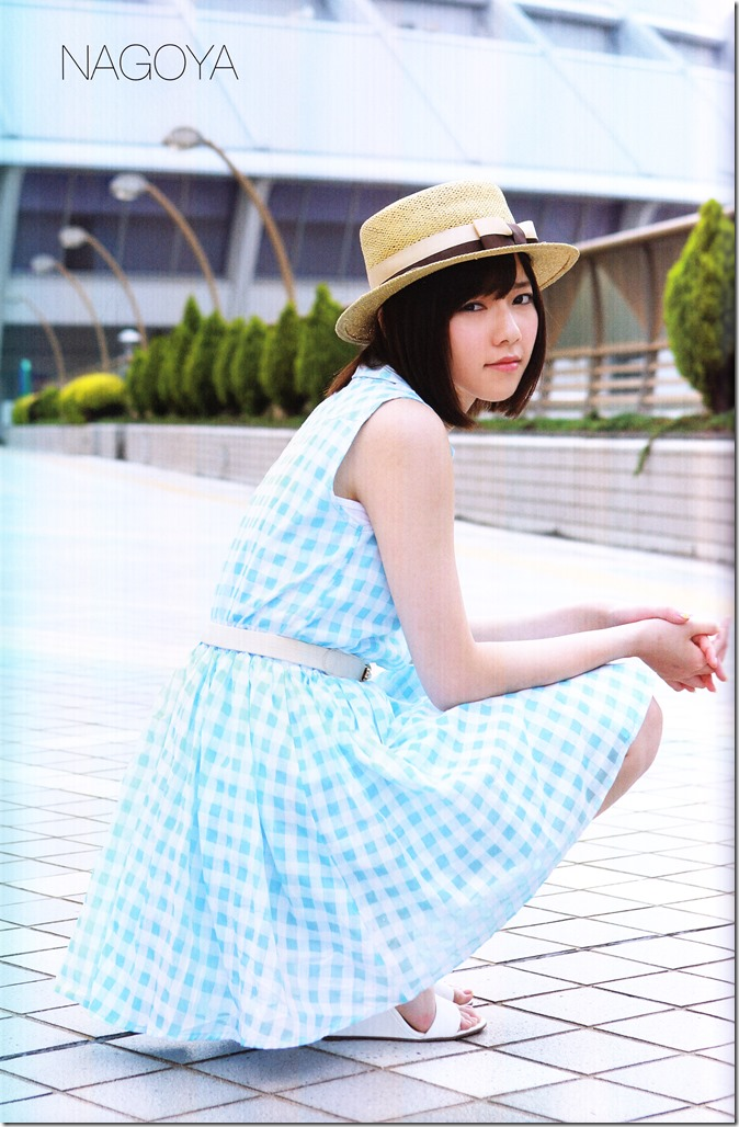 Shimazaki Haruka first photo book Paruru, Komaru (93)