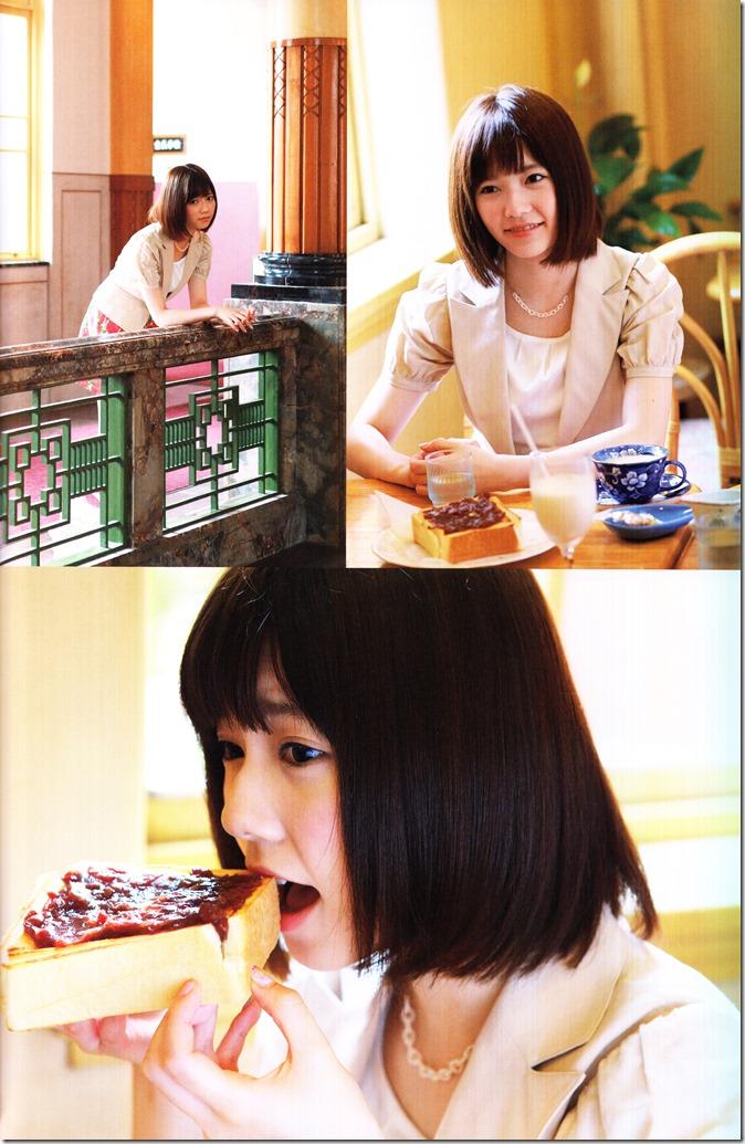 Shimazaki Haruka first photo book Paruru, Komaru (96)