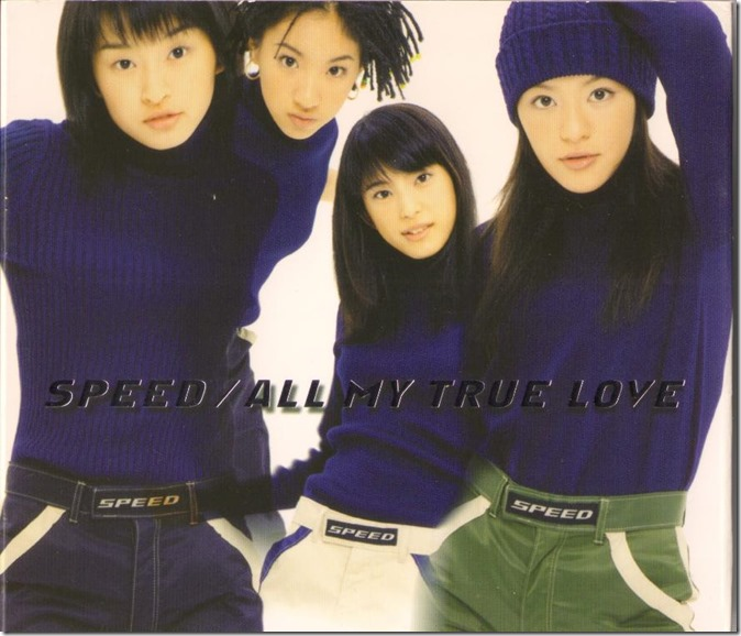 Speed ALL MY TRUE LOVE cover scan