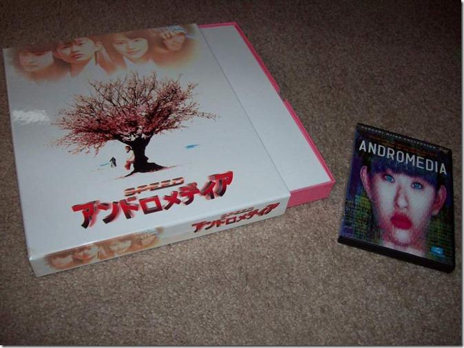 Speed Andromedia LE Japan release & U.S. DVD release