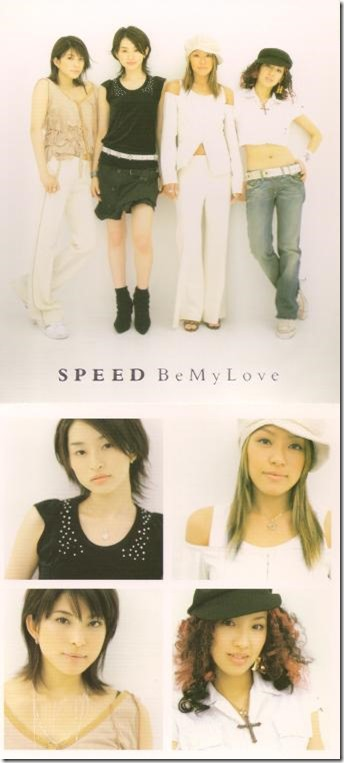 Speed Be My Love cover scan