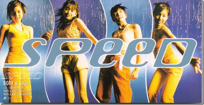 Speed Body & Soul cover scan