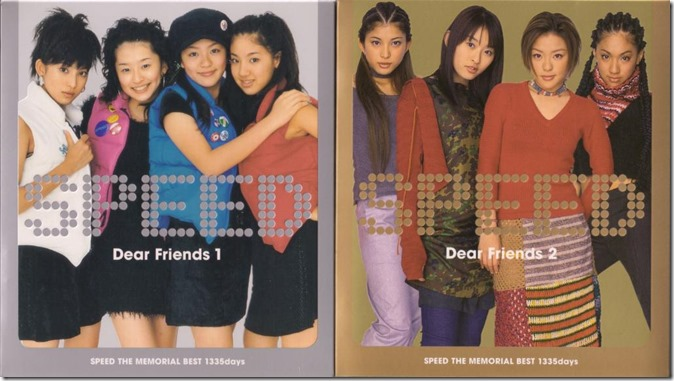 Speed Dear Friends 1 & 2 cover scans