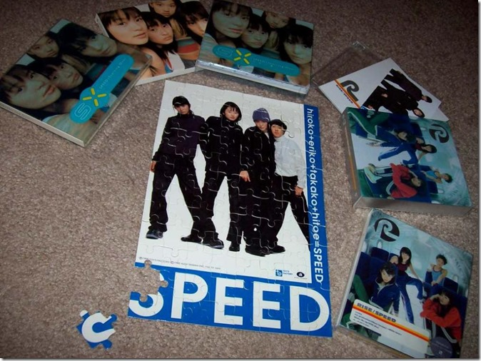 Speed first two album releases (Japanese & Taiwanese versions)