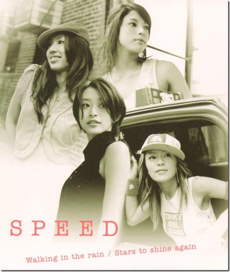 Speed Walking in the Rain cover scan