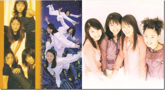 SPEED are Shimabukuro Hiroko, Imai Eriko, Uehara Takako, and Arakaki Hitoe…