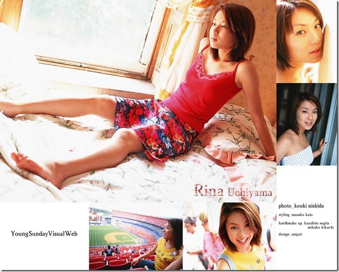 Uchiyama Rina YS Web