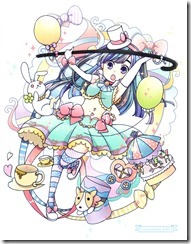 Watanabe Mayu Rappa Renshuuchuu LE illustration booklet (1)