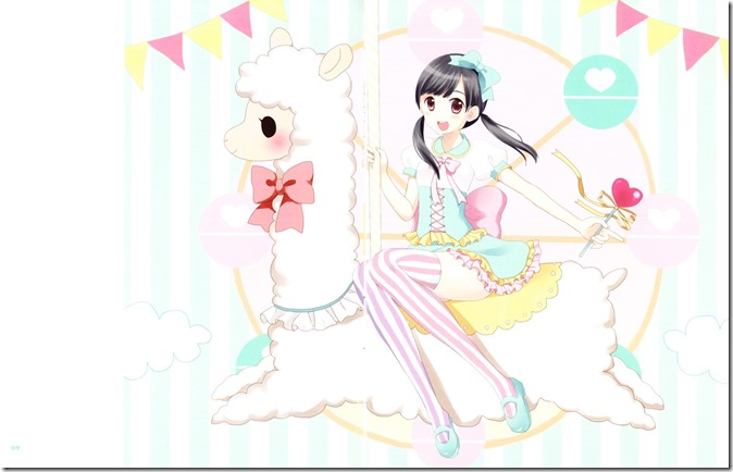 Watanabe Mayu Rappa Renshuuchuu LE illustration booklet (5)