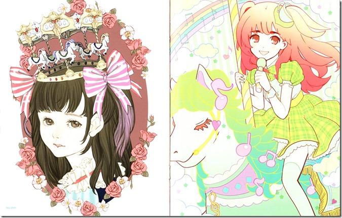Watanabe Mayu Rappa Renshuuchuu LE illustration booklet (7)