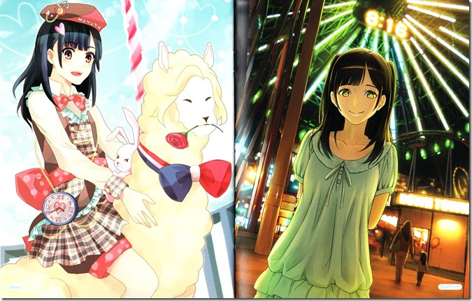 Watanabe Mayu Rappa Renshuuchuu LE illustration booklet (8)