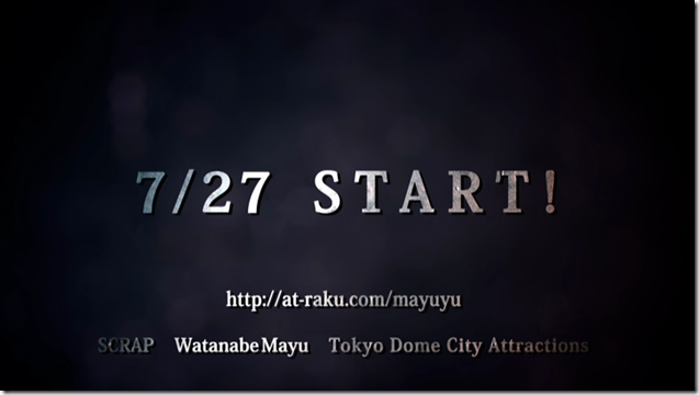 Watanabe Mayu Rappa Renshuuchuu Tokyo Dome City Attractions Amusement Park game trailer & challenge (9)