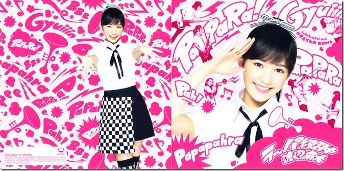 Watanabe Mayu Rappa Renshuuchuu type B single jacket