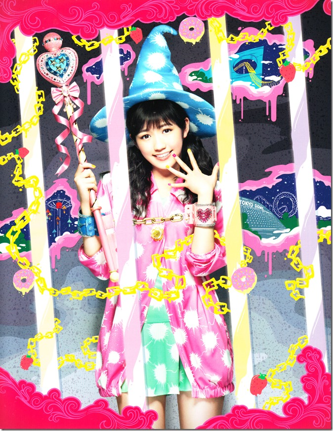 Watanabe Mayu with DVD limited edition outer casing and booklet scans (1)