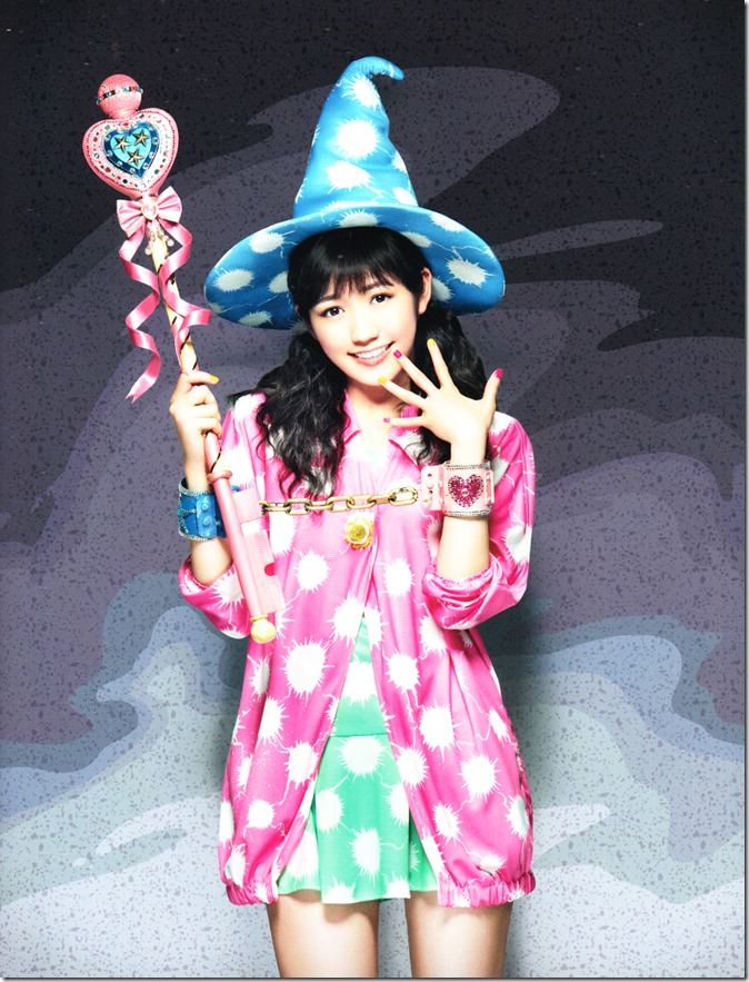 Watanabe Mayu with DVD limited edition outer casing and booklet scans (2)