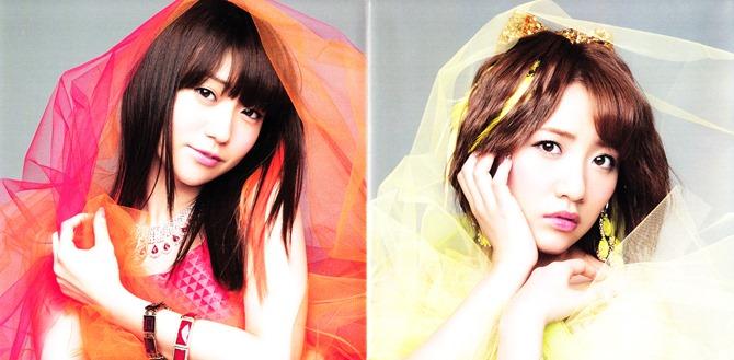 AKB48 Koisuru Fortune Cookie Type B single jacket & poster (4)