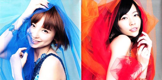 AKB48 Koisuru Fortune Cookie Type K single jacket & poster (2)