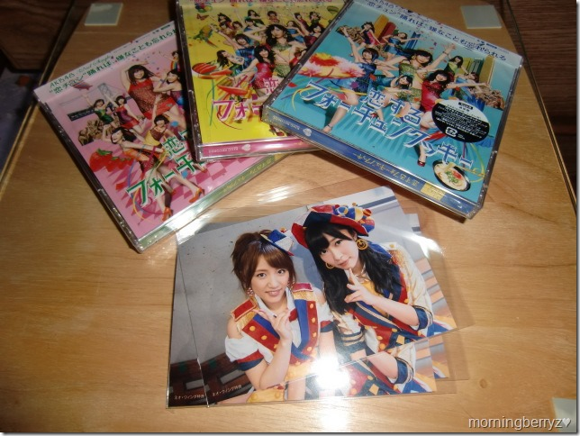 AKB48 Koisuru Fortune Cookie types I, II & III with first press Neowing external photo extras