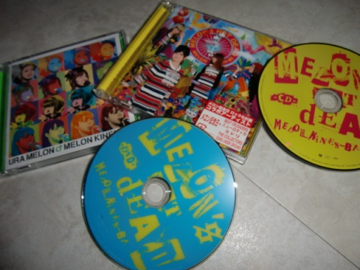 Melon Kinenbi URA MELON & MELON'S NOT DEAD albums
