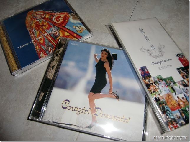 my Matsutoya Yumi CDs