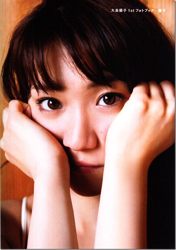 Oshima Yuko 1st photo book Yuko (3)
