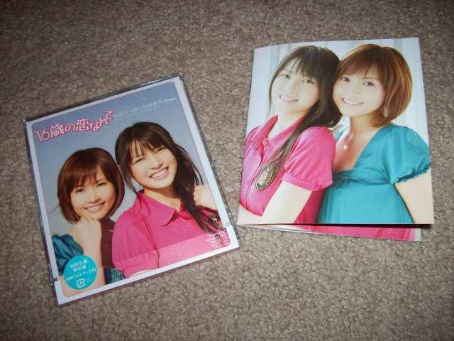 Abe Natsumi & Yajima Maimi 16sai no koinante LE CD single