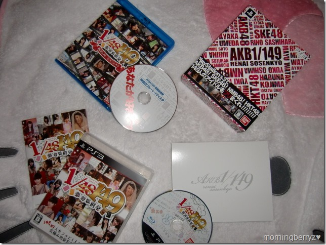 AKB48 1 149 Renai Sousenkyo PS3 Limited Edition box
